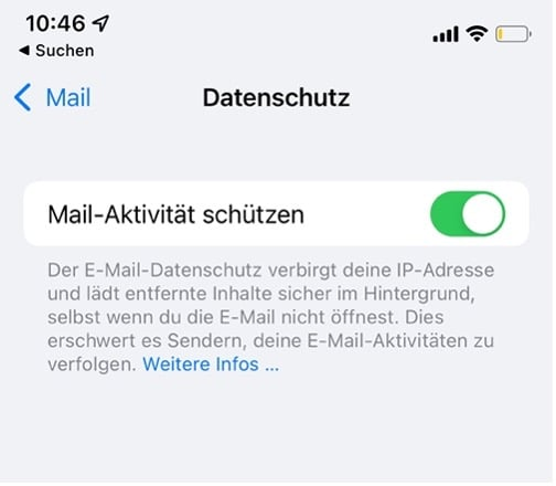 eMail Marketing iOS 14