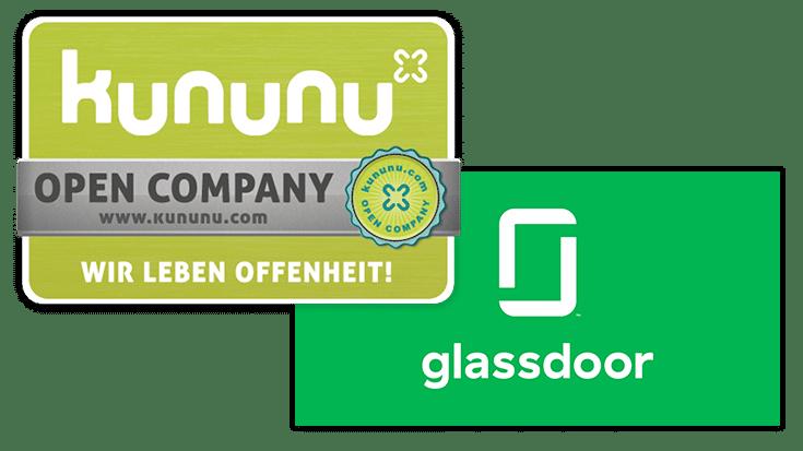 Arbeitnehmer Bewertungen bei Kununu und Glassdoor sammeln