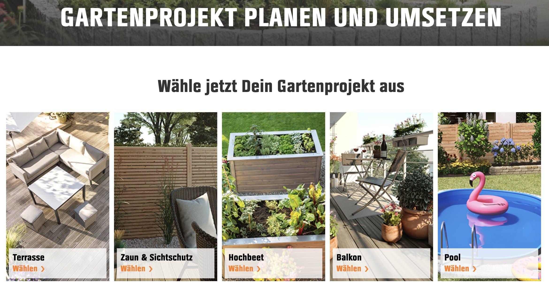 Gartenplaner von OBI