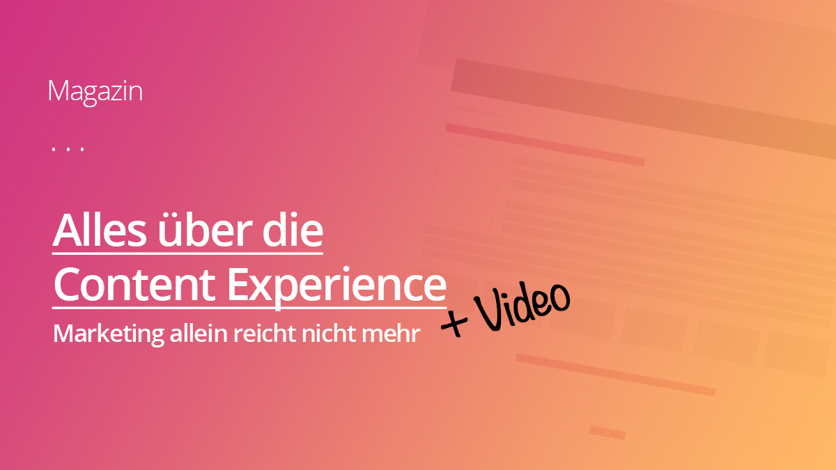 Gute Content Experience