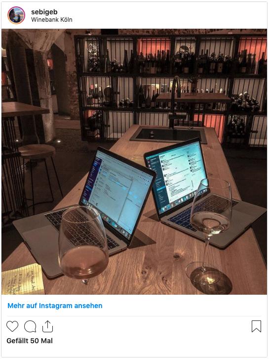 Weinfreunde Beispiel